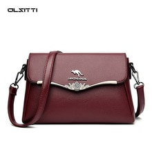 OLSITTI Summer Day Casual Soft Pu Leather Shoulder Bags for Women 2020 New Designer Fashion Luxury H