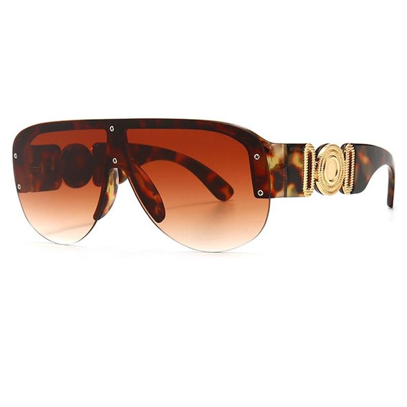 Blue Yellow Gradient Shades For Women Pilot Sunglasses Men Vintage Brand Designer Sunglasses Female