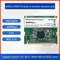 dnma 91 pw mn561 ar9223 300mbps mini pci wireless n wifi adapter wifi card wlan card support linux ros