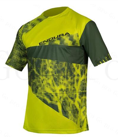 Camiseta para ciclismo de manga descendente para hombre 2020, camiseta de secado rápido Mx para ciclismo de montaña o carretera, camiseta de Motocross transpirable DH BMX