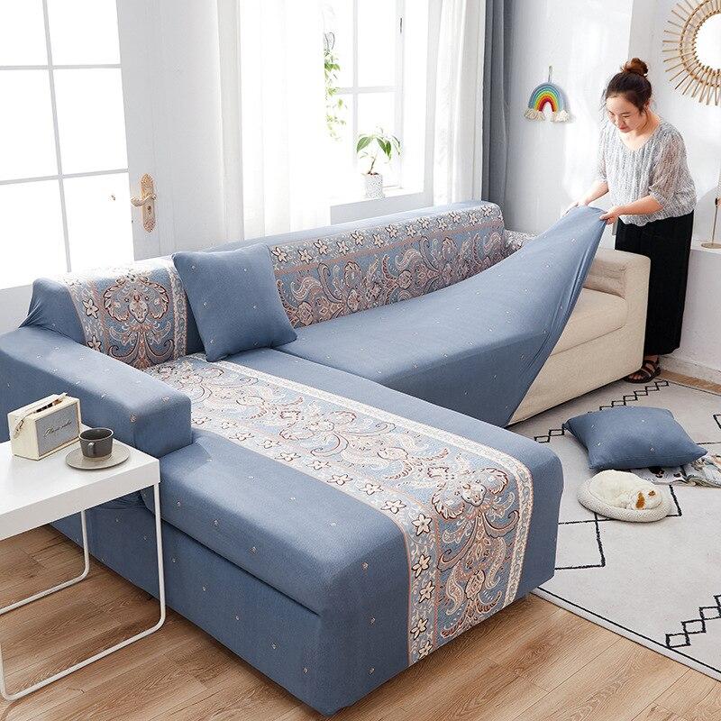 تمتد أريكة الغلاف مرونة أريكة يغطي لغرفة المعيشة فوندا أريكة كرسي غطاء أريكة ديكور المنزل 1/2/3/4 مقاعد housse canape
