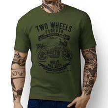 Britischen Motorrad Tiger 800 Inspiriert Motorrad Kunst T-Shirts