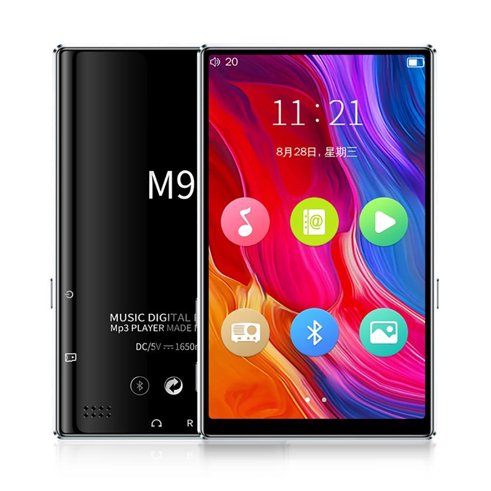 M9 Bluetooth5.0 MP4 لاعب 4.0 بوصة شاشة تعمل باللمس كامل راديو FM تسجيل الكتاب الإلكتروني الموسيقى مشغل فيديو المدمج في المتكلم