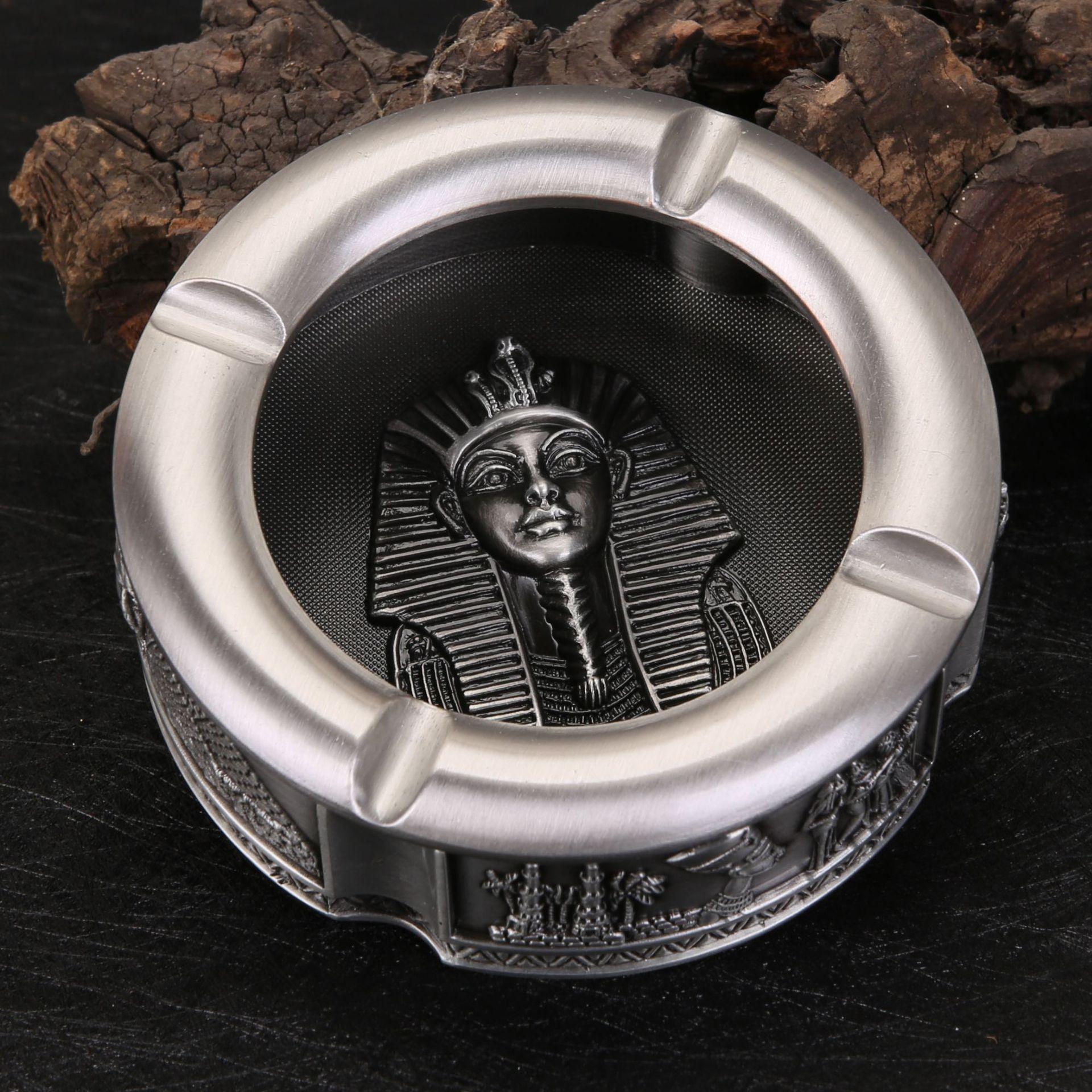 ernest alfred thompson wallis budge ancient egyptian literature Ancient Egyptian Pharaoh Ashtray Zinc Alloy Metal Crafts Ancient Egypt Totem Ashtray Creative European Retro Egyptian Ashtray