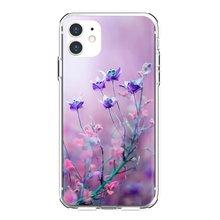 Мягкое покрытие кожи Красивые неоновых цветов обои для телефона для Xiaomi Redmi 4A 7A S2 Note 8X3 3S 4 4X5 6plus 7 6A Pro Pocophone F1