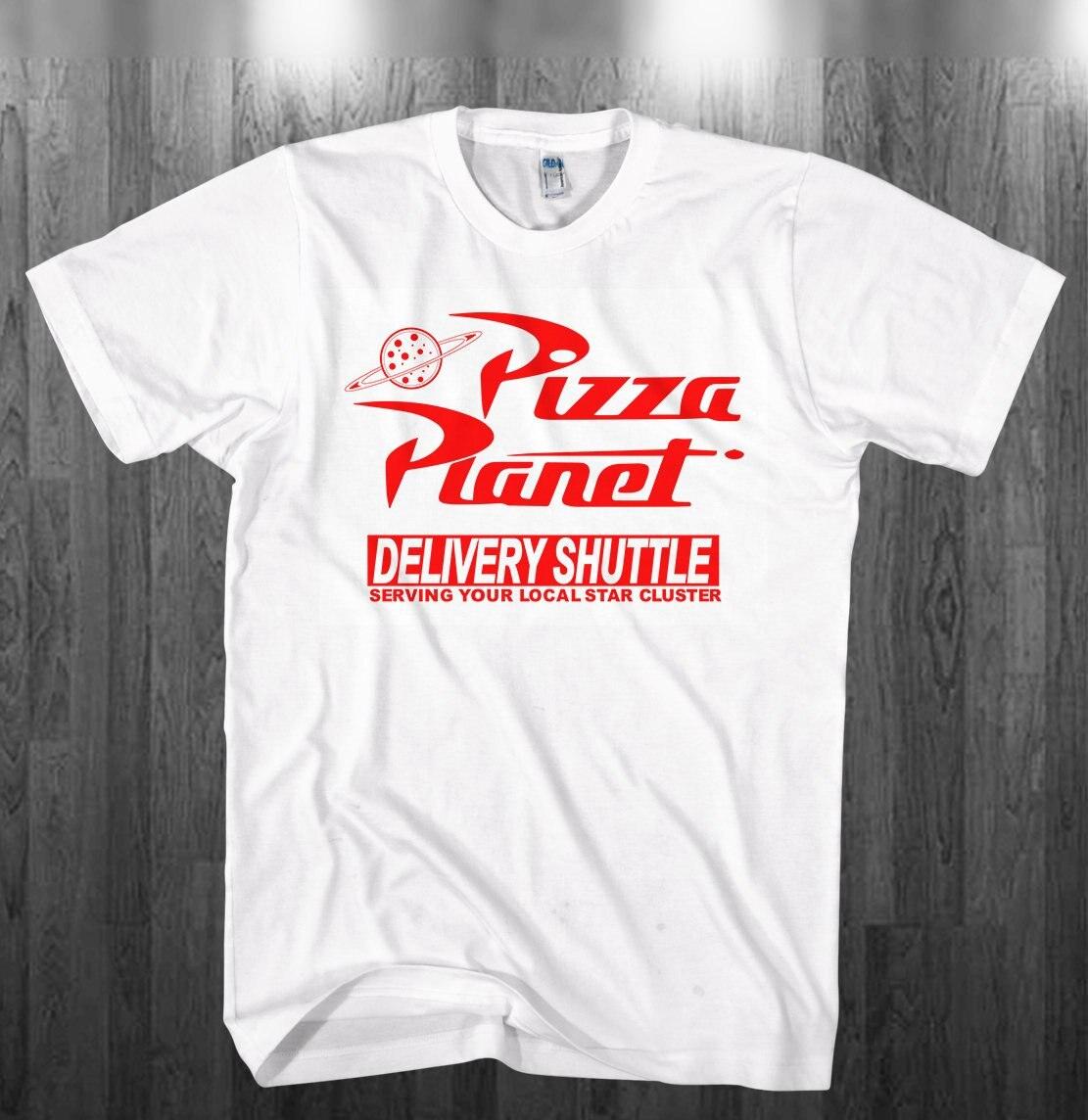 2020 de Pizza planeta camiseta de las mujeres-juguete historia inspirado camiseta Unisex Pizza planeta GraphicTee divertido Harajuku camisa de Tumblr Tops