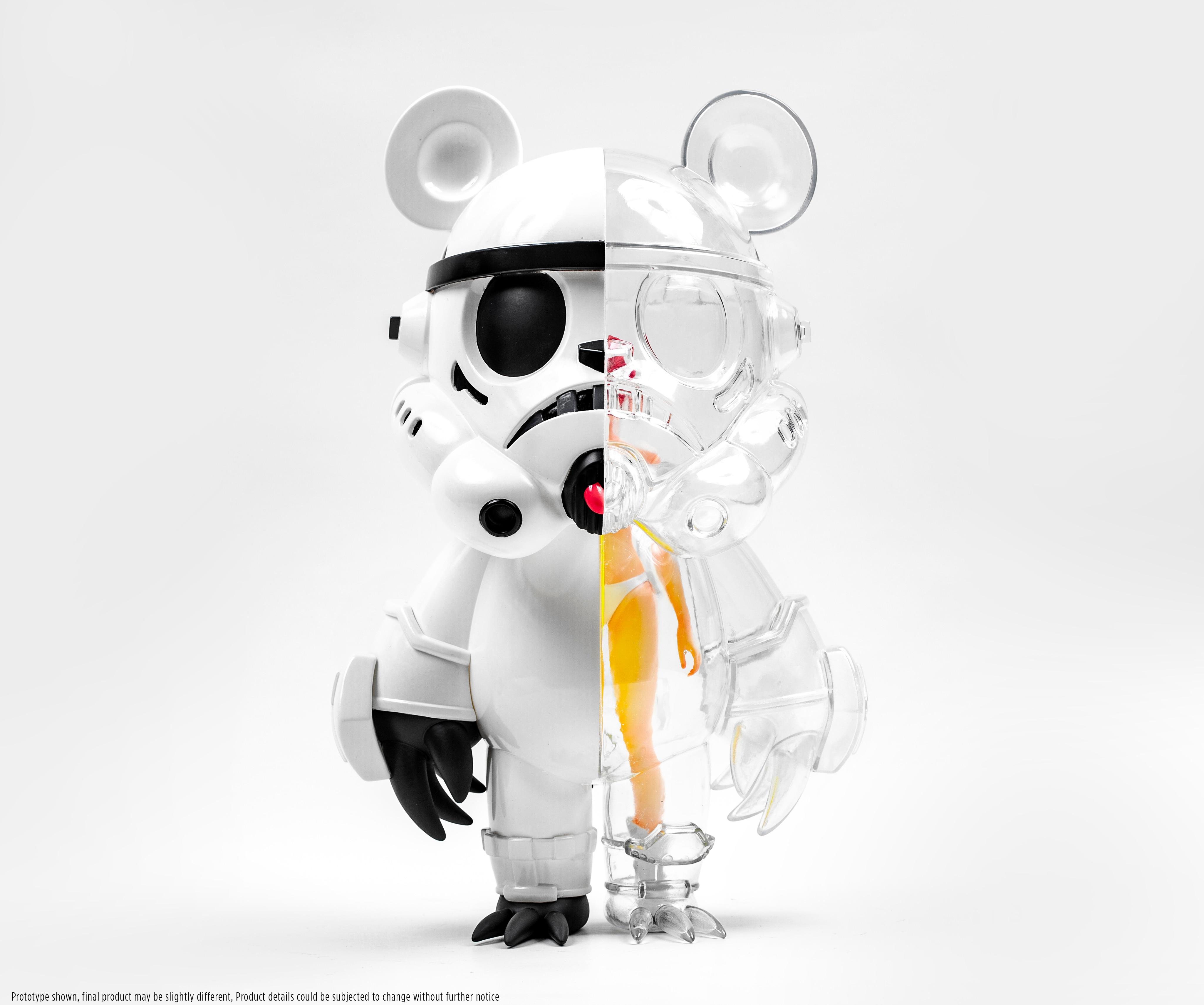 قبل البيع الحمقى الجنة KEIKOTROOPER الدب البلاستيكية لعبة كبيرة تمثال نموذج الفينيل هدايا عيد الميلاد طبعة محدودة تحصيل