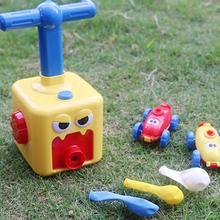 Globo para niños, coche de juguete educativo DIY, coche de energía inercial, regalo perfecto para niños pequeños, Educación Temprana