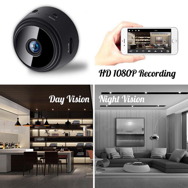 HD 1080P Mini Camera Wireless WiFi CCTV MINI IP App Cameras Indoor Home Security DVR Night Vision Vi