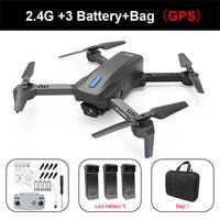 Дрона с дистанционным управлением H14 GPS 4k HD двойной Камера 2,4G/5G WI-FI FPV 75 градусов электрической регулировкой Безголовый режим Складная RC ...