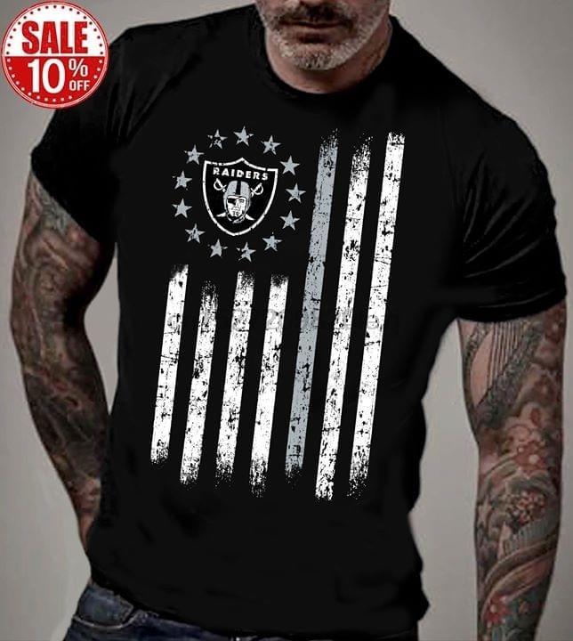 Raider Rugby fútbol Americano Superior Tee bandera camiseta