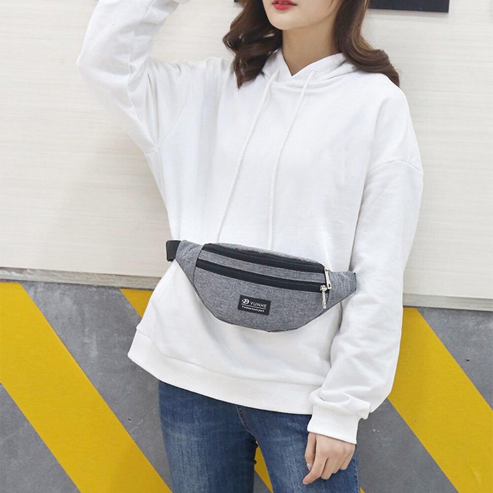 Impermeable bolso de la cintura cinturón de pecho bolso Unisex Fanny teléfono Paquete paquete de la cintura del vientre, bolso para acampar al aire libre de viaje