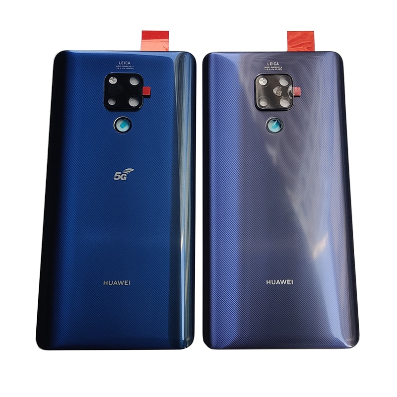 Mate 20X Original Back glass Cover For Huawei Mate 20 X, Back Door Replacement Battery Case, Rear Housing Cover With Camera Lens for lenovo zuk z2 back battery cover rear door housing 5 0 lenovo zuk z2 battery door case replacement zuk z2 with camera lens