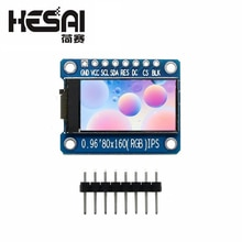 IPS 0.96 inch 7P SPI HD 65K Full Color LCD Module ST7735 Drive IC 80*160 (Not OLED)