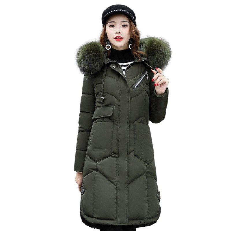 Ropa de invierno para Mujer, Chaqueta larga, abrigo de estilo coreano, Parka...