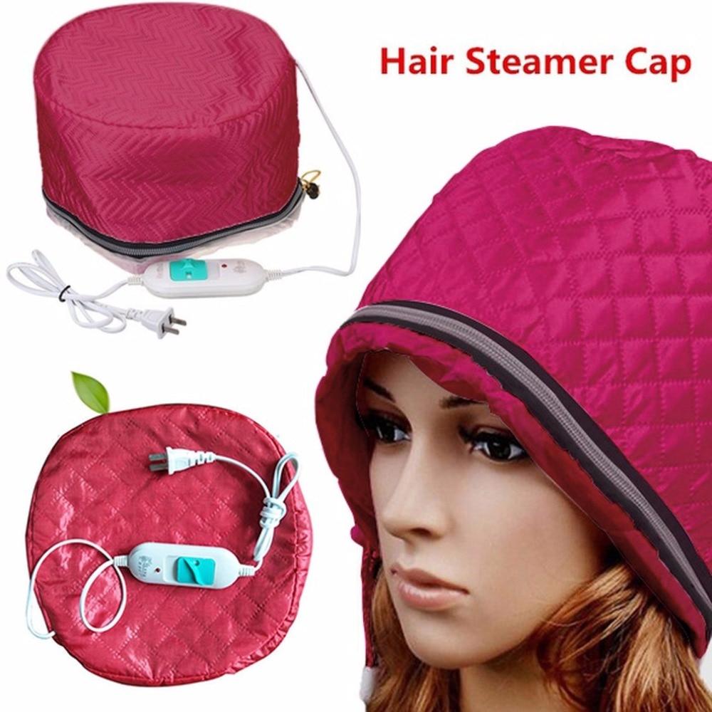 220V Электрический Уход за волосами Термальность обработки Красота SPA Питательный Уход за волосами шапочка штепсельная вилка стандарта США