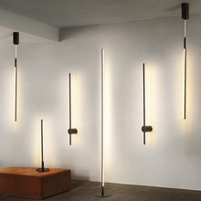 Moderne pendentif LED lumières Simple suspendu éclairage nordique Loft gradation maison suspension lampe chambre suspension lampe cuisine Lustre