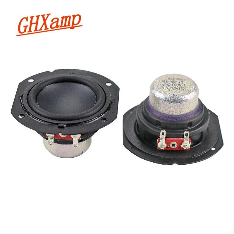 Ghxamp 2 дюйма 4ohm 10 Вт полный спектр динамик Неодимовый длинный ход портативный Bluetooth динамик 2,0 Настольный DIY 20 Вт 1 пара