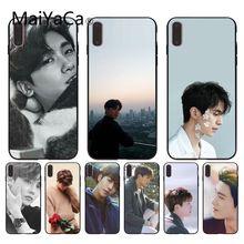 Maiyaca park hyung sik bonita caixa do telefone para o iphone 11 pro max 7x6s 8 plus x 5 5S se xr xsmax