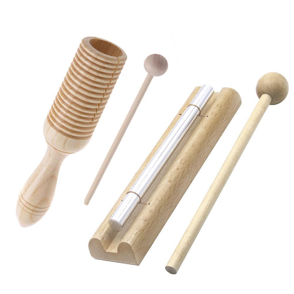 Wood Wind Chime Percussion Instrument Kid Children Musical Toy Percussion Bell Instrument Develop Children Musical Sense