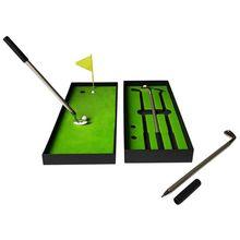 Simulated Golf Course Premium Mini Golf  Pen Set Office Gift Men Ballpoint PXPF