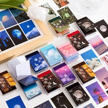 50 Pieces Sky Clouds Adhesive Washi Stickers Book Set for Journaling DIY Decorative Diary Stationery