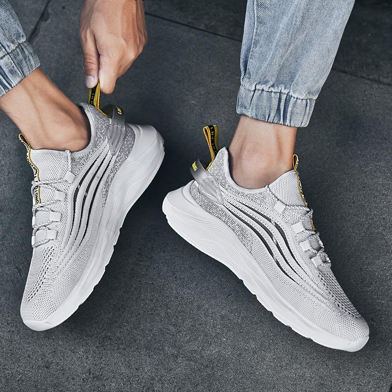 Hombre hombres sapatilhas caliente casuales zapatillas para zapatos lisa, primavera hombre informales...