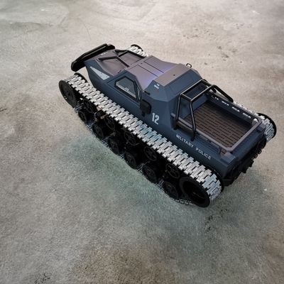 New 1/12 RC 4WD Drift Tank 2.4G High speed EV2 Tank RTR Remote control armored vehicle 380 Motor toys for children enlarge