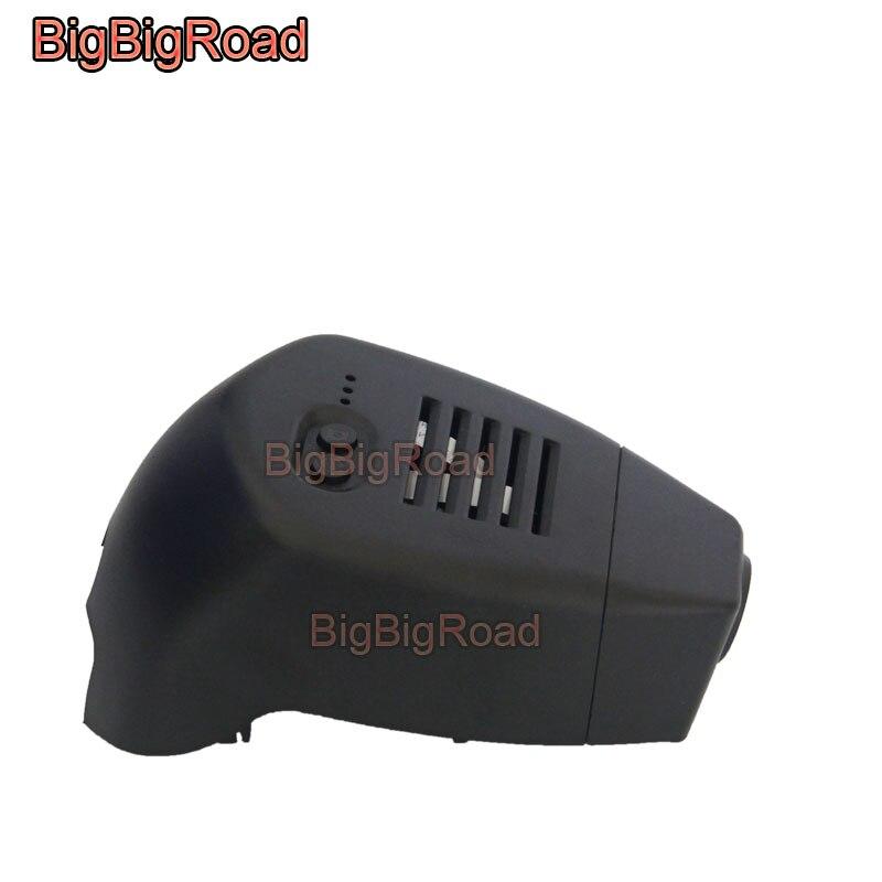 BigBigRoad-كاميرا لوحة القيادة للسيارة Volvo S60 V60 2020 2021 ، FHD 1080P ، wifi ، DVR ، مسجل فيديو ، تركيب مخفي