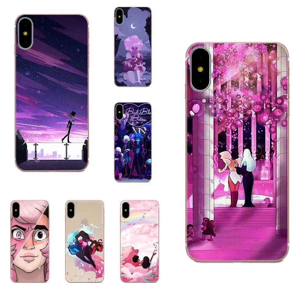 Soft Silicone TPU Transparent Retail New Fashion Steven Universe Pearl For Xiaomi Redmi Note 2 3 3S 4 4A 4X 5 5A 6 6A Pro Plus