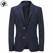 Little Raindrop Suit Jacket Mens Casual Blazers Trend Brand High Quality Slim Wild Suit  Single-brea