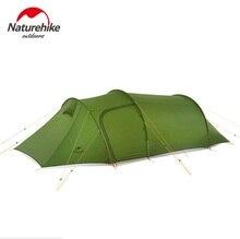 Naturehike Neue ultraleicht Opalus Tunnel doppel Zelt outdoor camping wandern 2/3/4 Personen zelt