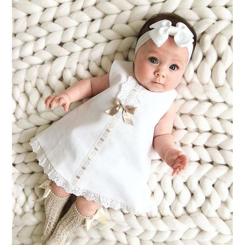 Pudcoco vestido de niña niños recién nacidos bebé niñas Blancanieves espalda descubierta princesa ropa de fiesta verano