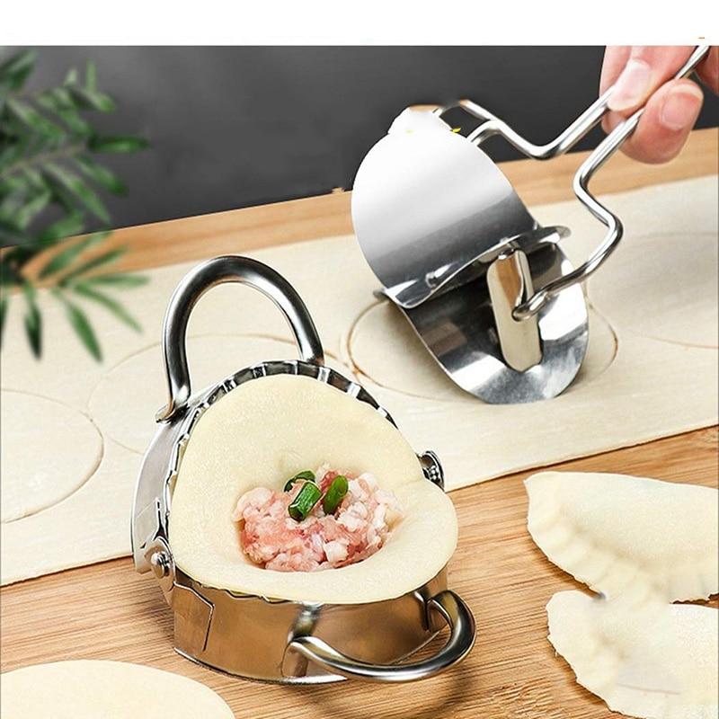 Artefactos para Dumpling, utensilios para el hogar, cocina de acero inoxidable, utensilios para Dumpling