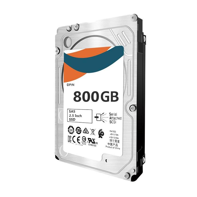 أفضل جودة لـ EO000800JWDKQ 868649-002 873355-B21 873564-001 800GB SAS WI SFF SC DS SSD ضمان لمدة سنة واحدة