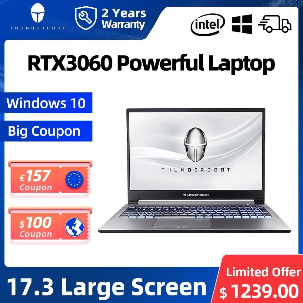 911Plus RTX3060 17.3'' Gaming Laptop i5-11260H 16G RAM 512G SSD 144Hz Windows 10 Pro Notebook Computer Laptops 2 Years Warranty