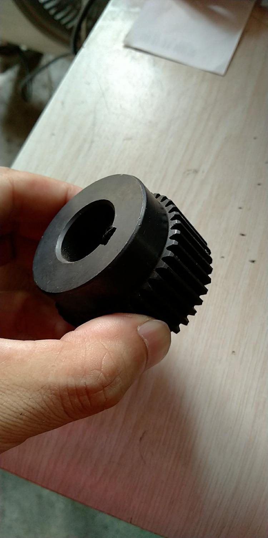 Spur Gear pinion 1.5M 18T 1.5 mod gear rack 18teeth bore 14 mm keyway 5mm 45 steel cnc rack and pinion