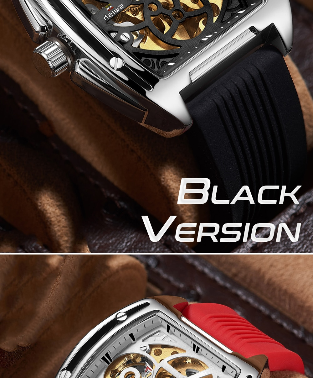 H0cc7690d3e7b4077acf13d53590d6dc8j SWISH Brand Design Luxury Men's Mechanical Wristwatch