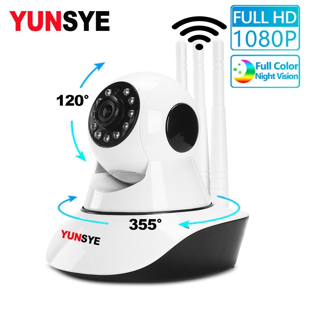 YUNSYE 1080P IP Camera WIFI Wireless Home Security Camera Surveillance Camera Night Vision CCTV Camera Baby Monitor 2MP Webcam