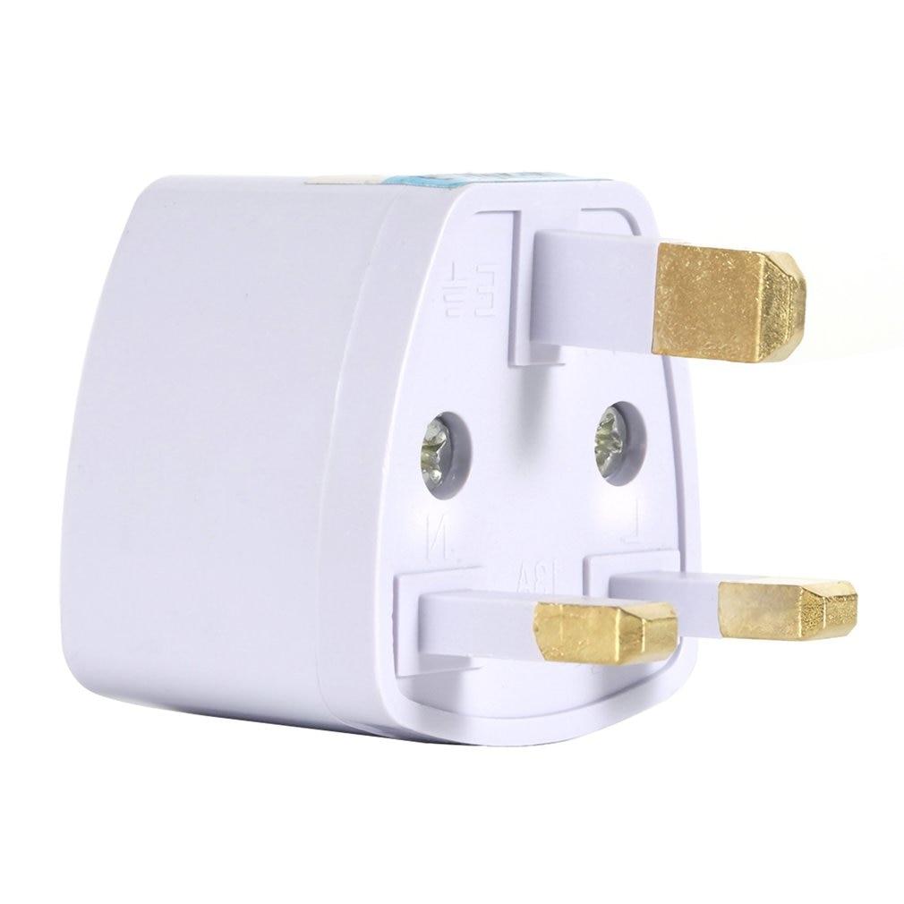 Universal US EU AU UK Converter to UK US AU EU AC Travel Power Plug Charger Adapter Connector UK plug Three pins Socket Convert