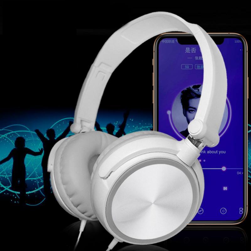 Gaming Headphone Wired Headset 3.5mm Stereo Earphone With Microphone Universal Head-mounted Earphone Portable Audio TXTB1
