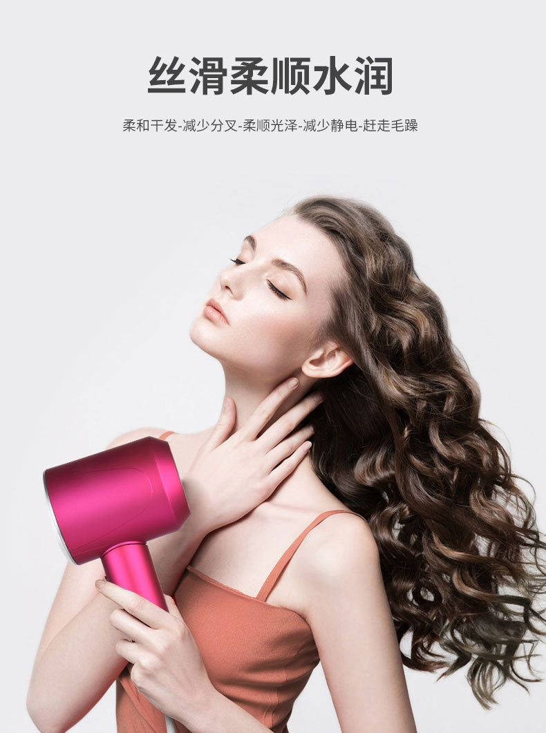 Professional Hair Dryer With Leather Case Strong Wind Salon Dryer Hot Air&Cold Air Wind Dry Electric Hairdryer Salon enlarge