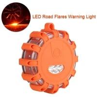 led road flares emergency lights roadside warning flashlight car safety flare warning flashing beacon for vehicles and boats
