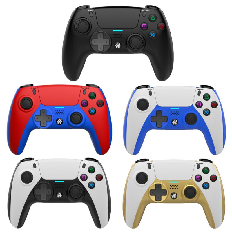 Wireless Game Controller For PS4 Elite/Slim/Pro Console Dual Shock Gamepad With Programmable Back Button Support PC Gamepad
