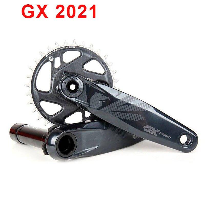 2021 SRAM GX EAGLE кривошипная система 1x1 2 скорости горный велосипед DUB кривошипная система 170 мм 175 мм 32T 34T цепная звезда