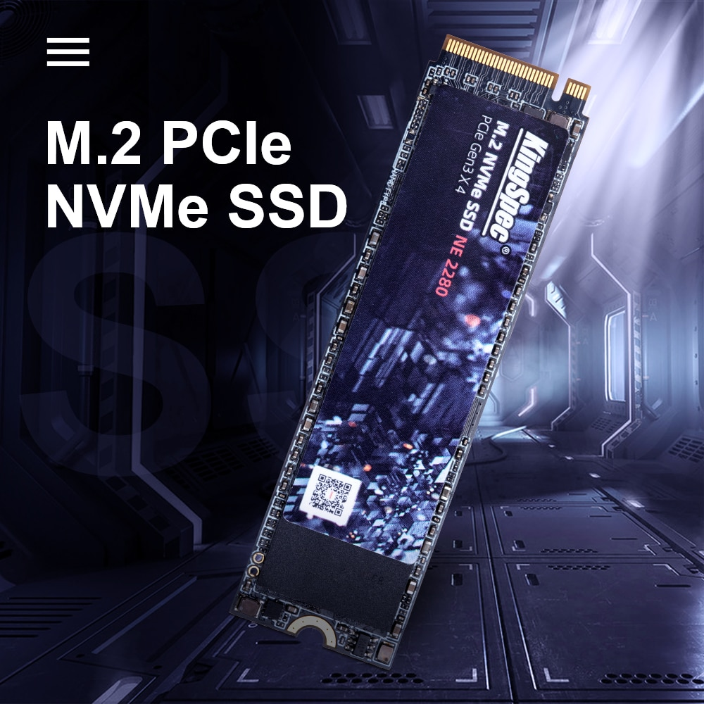 KingSpec M2 SSD NVMe 256GB 512GB 1TB 128GB M.2 2280 PCIe SSD Internal Solid State Drive for Laptop Desktop SSD Drive