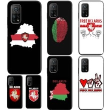 Free Belarus Flag Case For POCO X3 F2 Pro F1 Funda For Xiaomi Mi 9T 10T Pro A3 9 Mi Note 10 Lite Coq