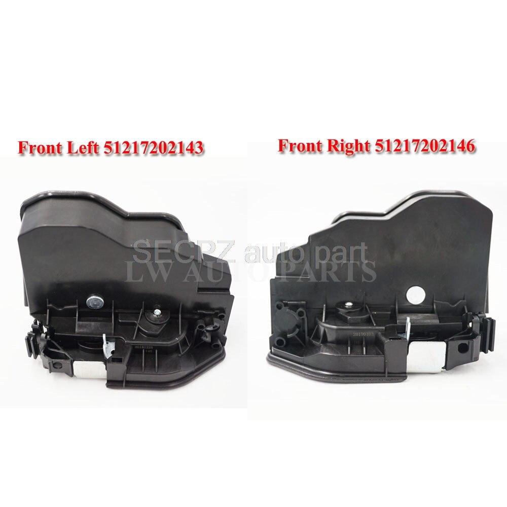 2pc par para BMW cerradura de la puerta delantera del actuador mecanismo de cerraduras Motor pestillo E60 E65 E82 E83 E89 E90 E92 x5 x3 x6 z4 1 3 5 5 5 6 6 7