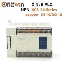 XINJE XC3 série XINJE XC3-24R/T/RT-E MODULE de contrôleur PLC AC220V DI 14 DO 10 Transistor nouveau dans la boîte