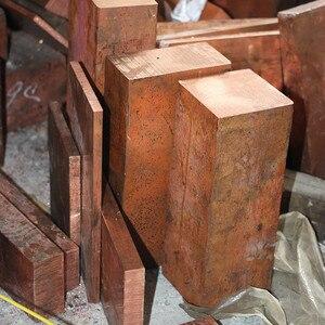 Copper Row 4x20x100mm  Copper Stick  Free Shipping  T2 Copper Bar Copper Billet TMY Copper Block  DIY customized cutting service